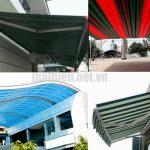 Làm mái che di động giá bao nhiêu tiền 1/m2 tại Tphcm