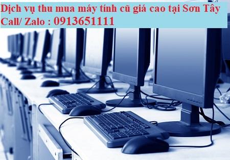 Quy trình dịch vụ thu mua thanh lý máy tính cũ tại Sơn Tây