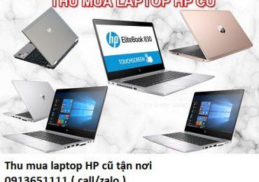 Thu mua laptop HP cũ tận nơi