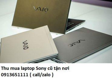 Thu mua laptop Sony cũ tận nơi