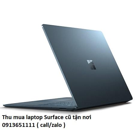Thu mua laptop Surface cũ tận nơi