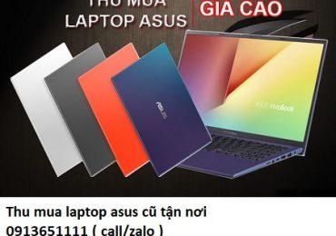 Thu mua laptop asus cũ tận nơi