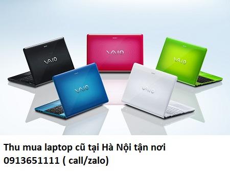 Thu mua laptop cũ tại Hà Nội tận nơi