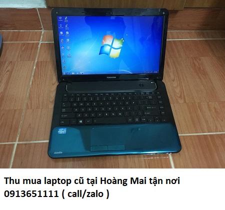 Thu mua laptop cũ tại Hoàng Mai tận nơi
