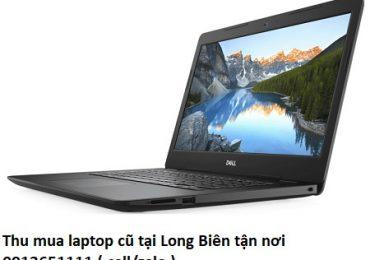 Thu mua laptop cũ tại Long Biên tận nơi